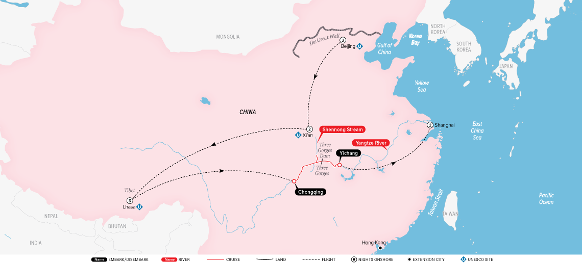 china,-tibet-&-the-yangtze-map