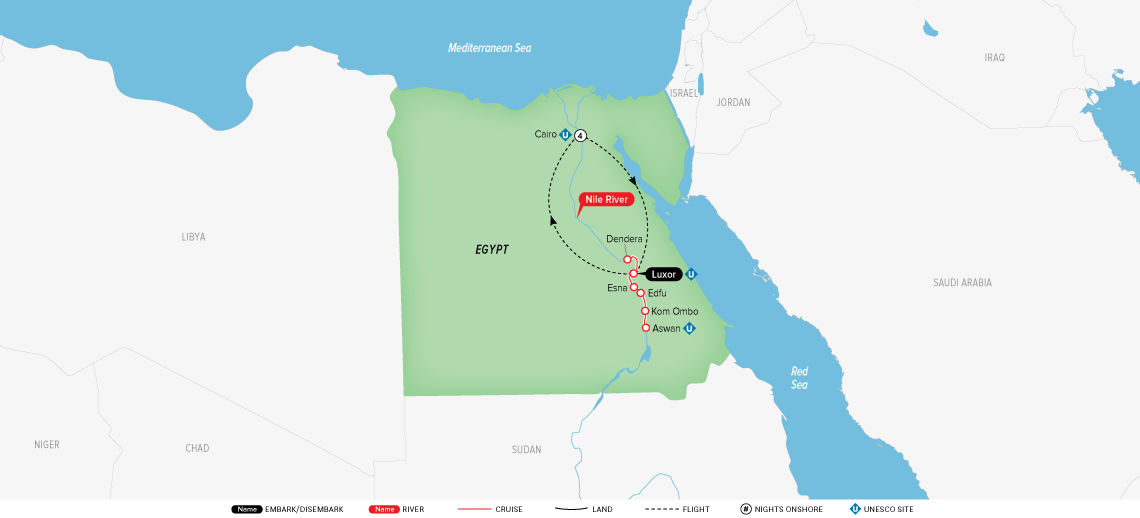 splendors-of-egypt-&-the-nile-map