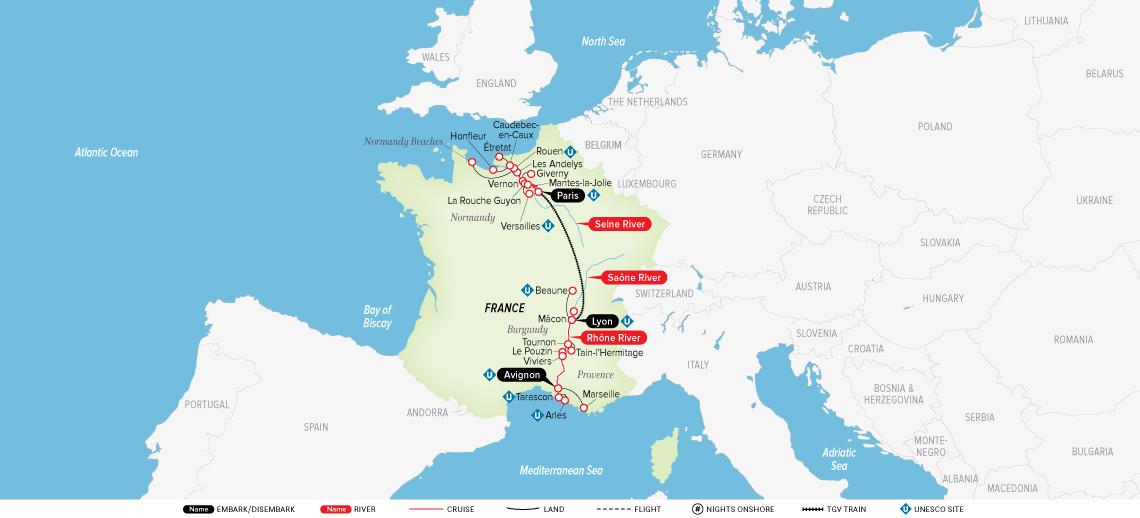 Grand France 2019 Europe River Cruise Uniworld River Cruises